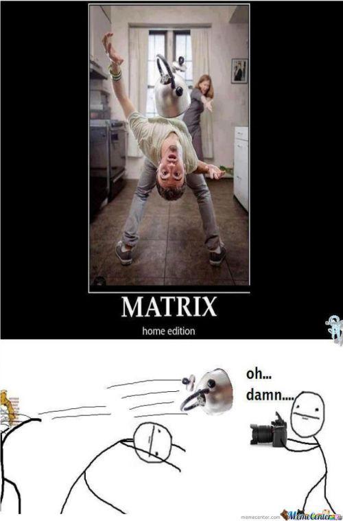 Home Matrix Meme   Slapcaption.com