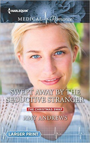 REVIEW: Swept Away by the Seductive Stranger by Amy Andrews | Harlequin Junkie | Blogging Romance Books | Addicted to HEA :)