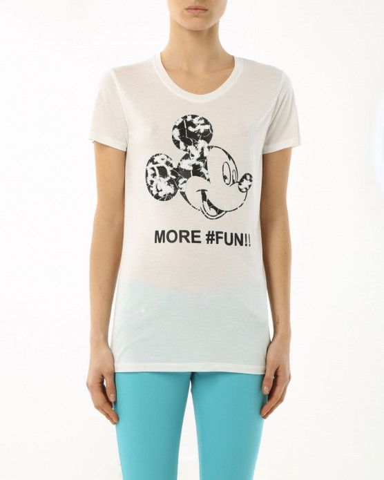 Our motto? Get more fun with the Mickey Mouse T-shirt by Iceberg
