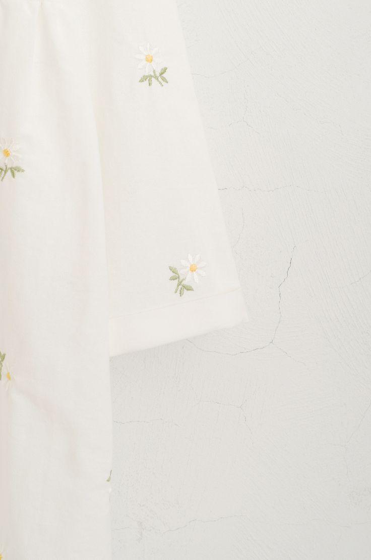 Olive - Daisy Stitch Dress, Ivory, £58.00 (http://www.oliveclothing.com/p-oliveunique-p-20150421-062-ivory-daisy-stitch-dress-ivory)