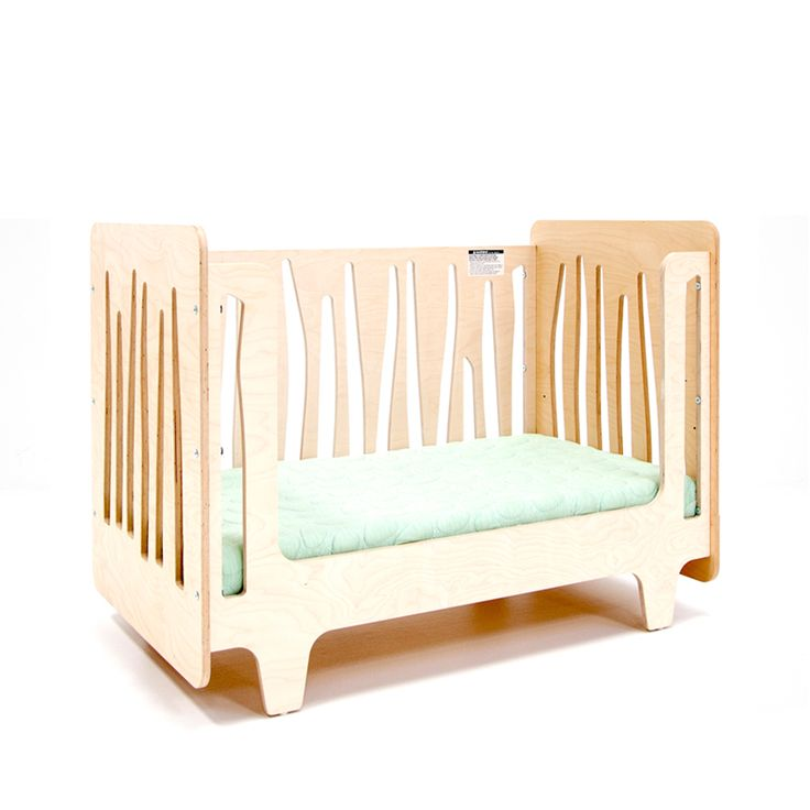 Funky Forest Toddler Bed Featuring An Eco Friendly, Non Toxic And Modern  Crib Mattress From