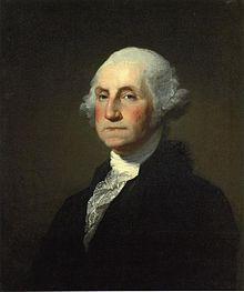 1st President of the United States: George Washington 1789, 1792