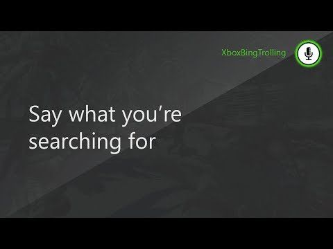 Xbox One Bing Trolling