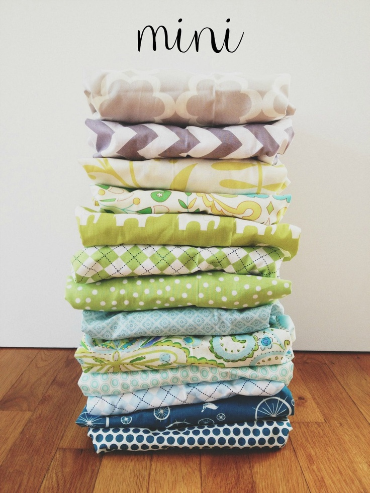 mini crib sheet (choose any fabric). $37.00, via Etsy.
