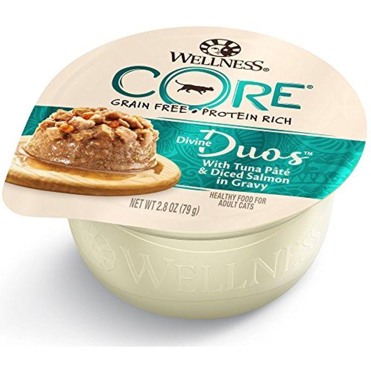 Wellness core divine duos tuna pate cannedcatfood food