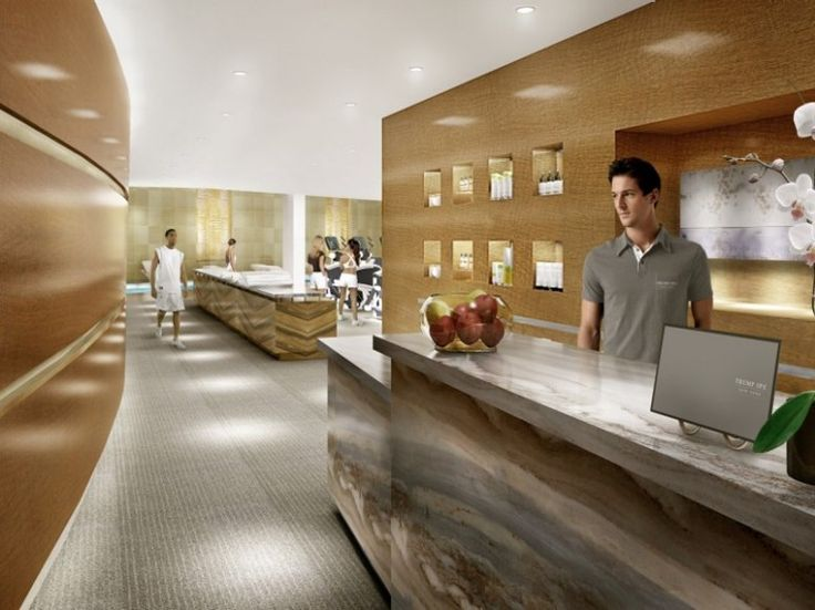 TOP 75 U.S. MAINLAND HOTEL SPAS  # 26.  TRUMP INTERNATIONAL HOTEL & TOWER, NEW YORK CITY    Overall Score: 91.9  Treatments: 94.6  Staff: 94.6  Facilities: 86.5    Treatment Rooms: 3  Basic Massage: $160