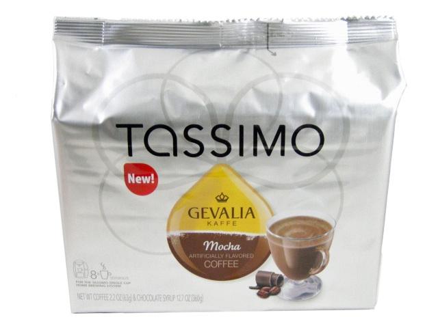 tassimo t discs gevalia mocha flavored coffee t. Black Bedroom Furniture Sets. Home Design Ideas