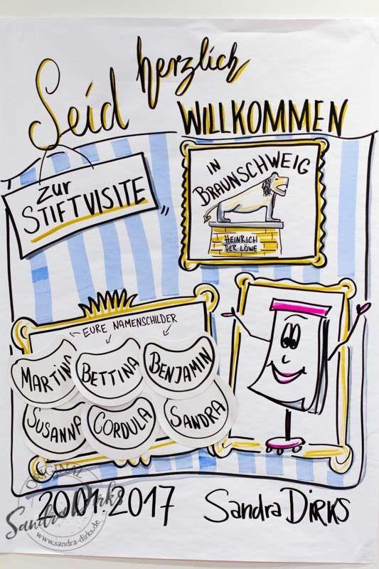 Rückblick zur 1. Stiftvisite, dem Flipcharttraining in Braunschweig https://sandra-dirks.de/rueckblick-zur-1-stiftvisite-dem-flipcharttraining-in-braunschweig/