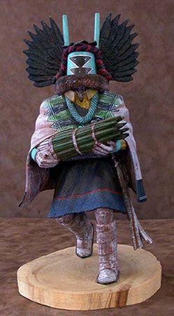 Hopi Kachina Doll - Crow Mother