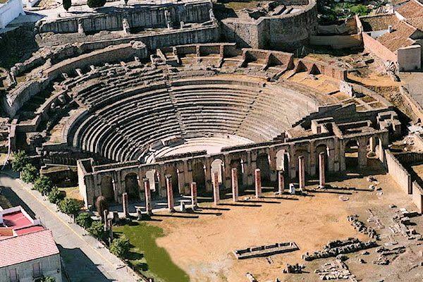Teatro romano de Itálica. Sevilla.