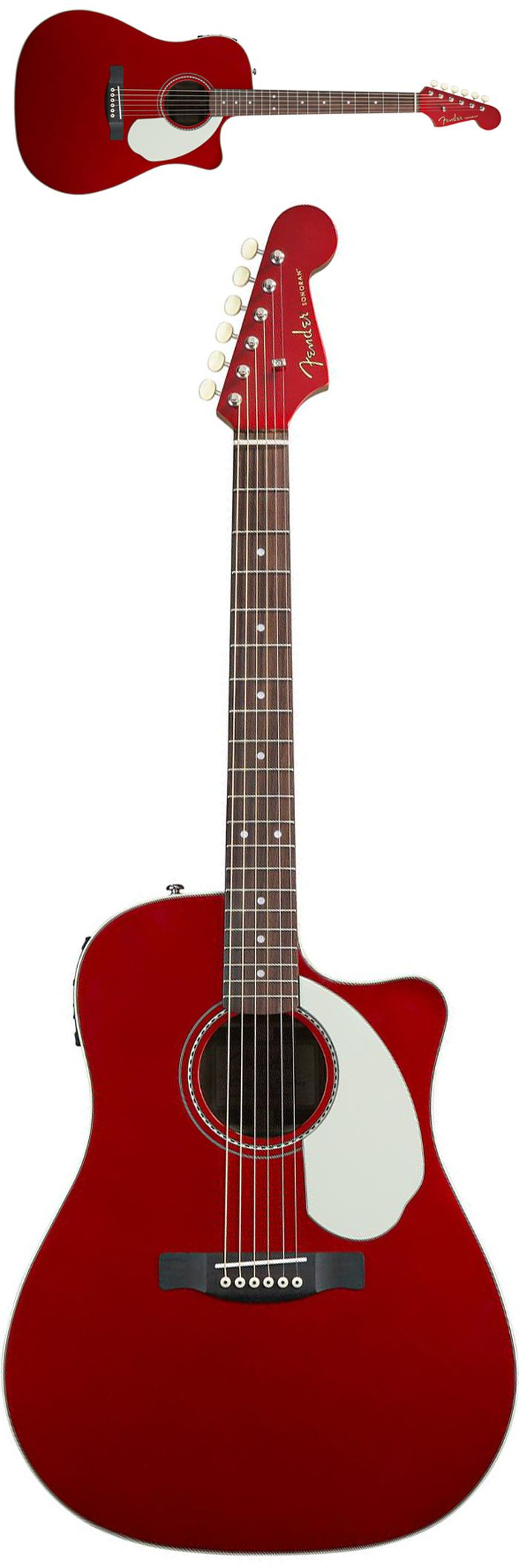 Fender Sonoran SCE A/E Candy Apple Red