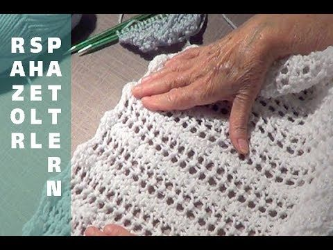 Razor Shell Knitting Pattern - YouTube
