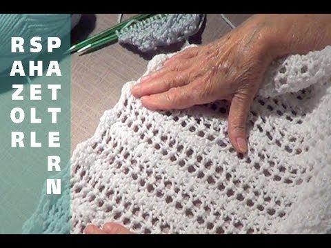 Razor Shell Knitting Pattern - YouTube