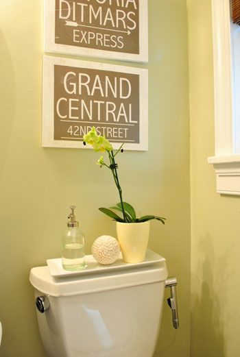 Bathroom Things: 1000+ Ideas About Toilet Room Decor On Pinterest