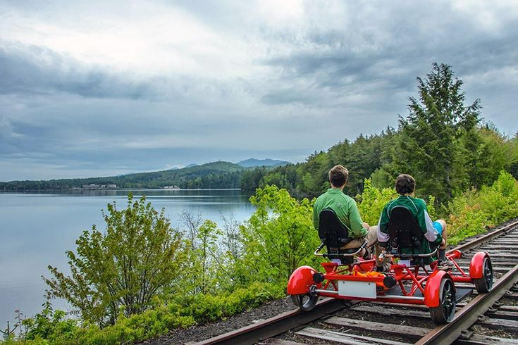 Slow your roll, scenic train tours! A brand-new way to ride the rails just arrived in the Adirondacks — and the Hudson Valley could be next