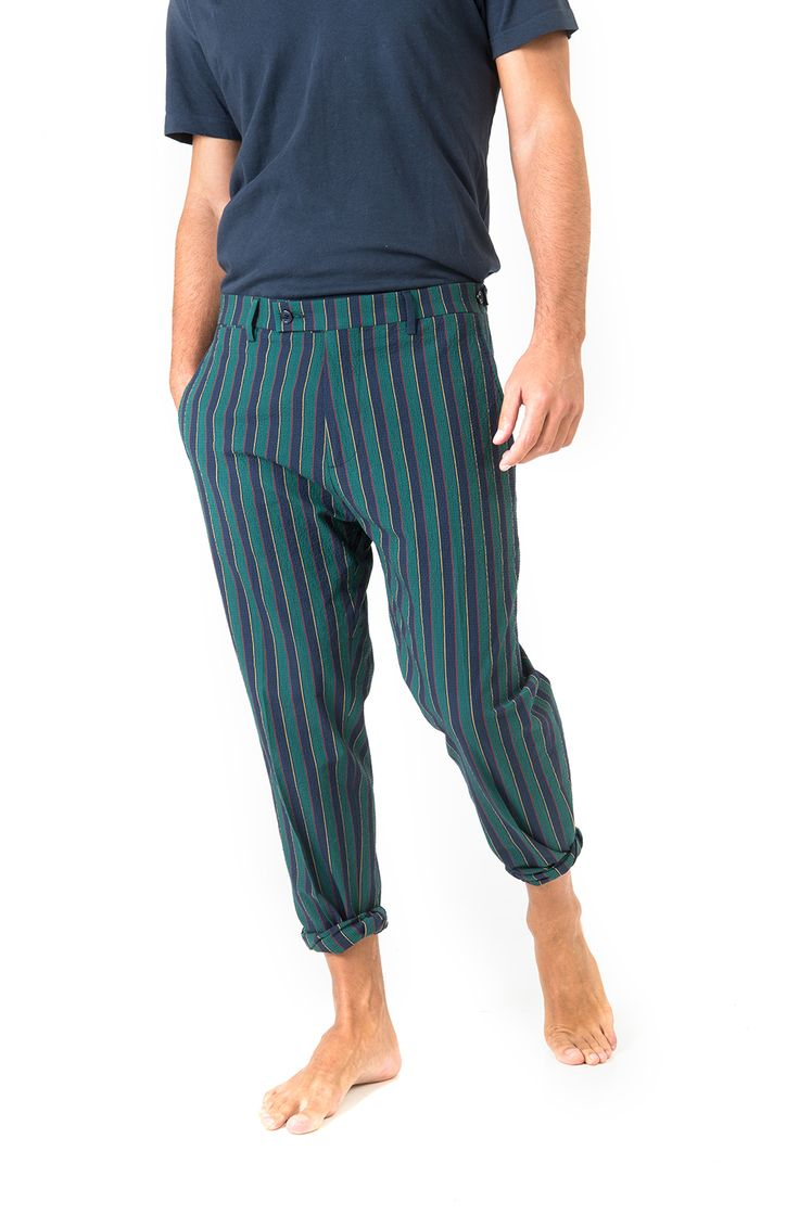 looking casual or super dapper with berwich pants for him SS16