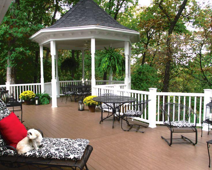 Beautiful terrace gossen decking