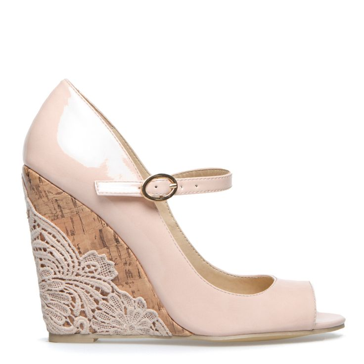 1000  ideas about Lace Wedges on Pinterest | Bridesmaid shoes ...
