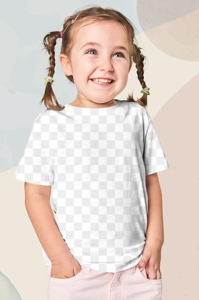 Download Download Premium Png Of Girl S Wearing T Shirt Png Mockup 2681851 Clothing Mockup T Shirt Png Kids Outfits