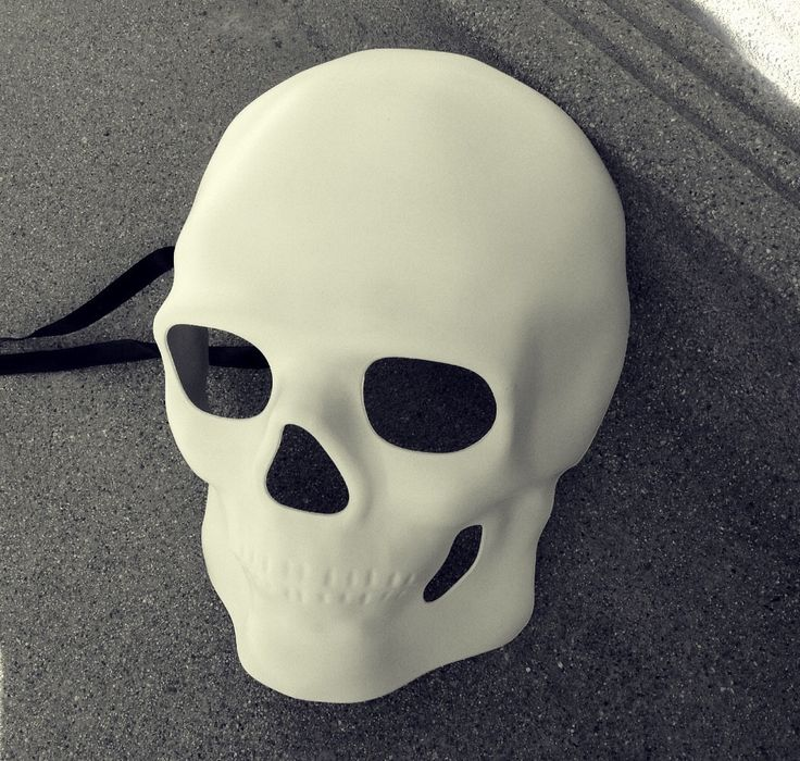 Blank Undecorated White mens Halloween masquerade skull mask by Crafty4Party on Etsy https://www.etsy.com/listing/245685297/blank-undecorated-white-mens-halloween