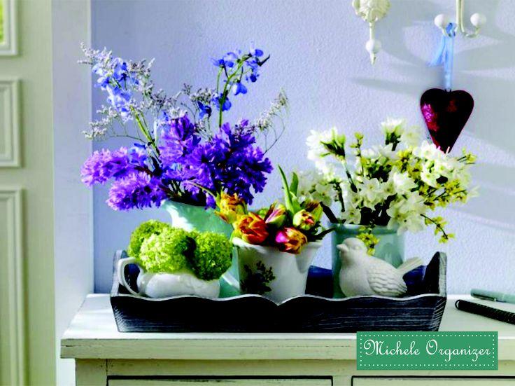 Flores e Passarinho