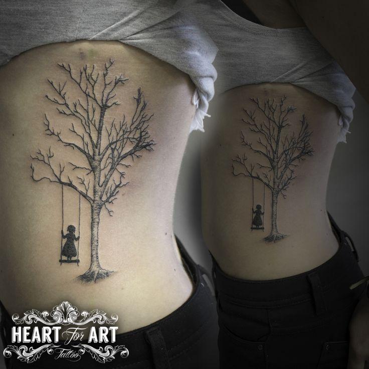 Tree Swing tattoo                                                       …