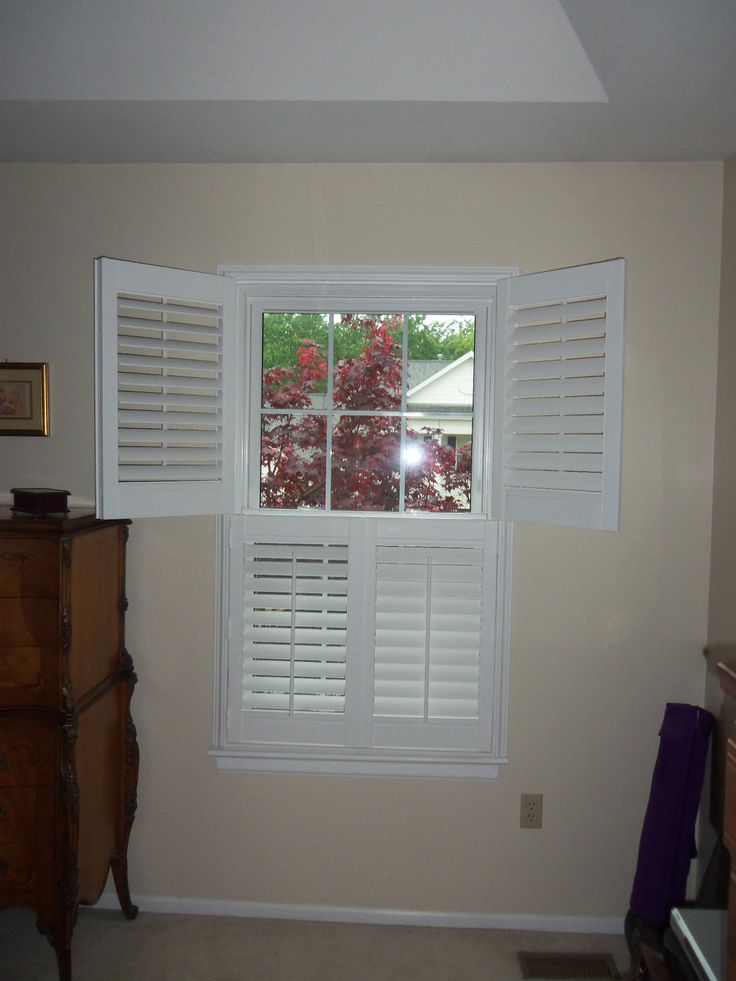Double Hung Plantation Shutters Are Also Called Tier
