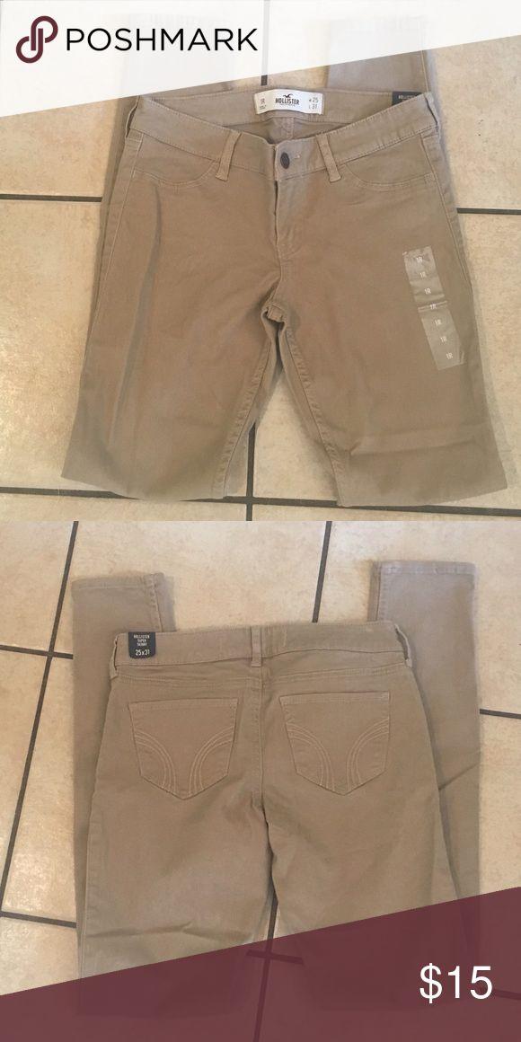 Hollister super skinny kakis Brand new! Length 31 Hollister Pants