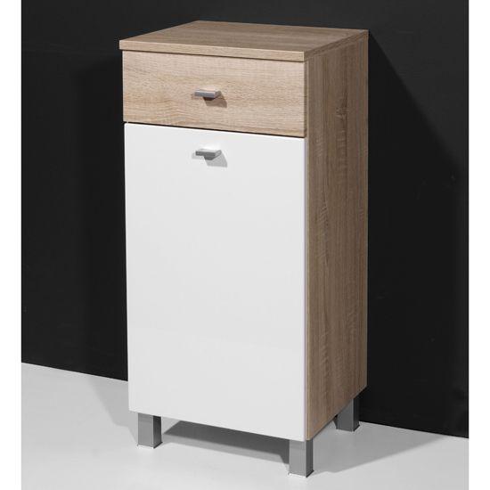 Innovative  Storage Gt Bath Furniture Gt Walnut Bathroom Linen Side Cabinet With 3
