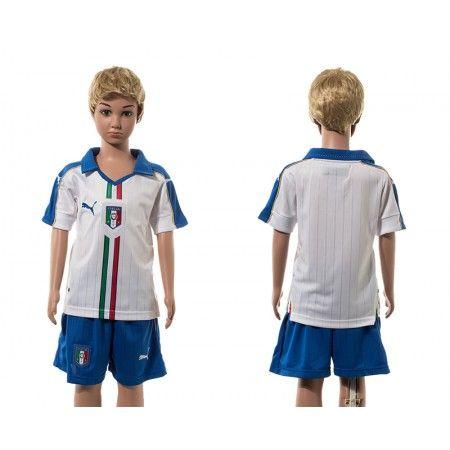 #Italien Trøje Børn 2016 Udebanetrøje Kort ærmer.199,62KR.shirtshopservice@gmail.com