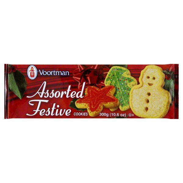 Voortman Cookies, Assorted Festive Image
