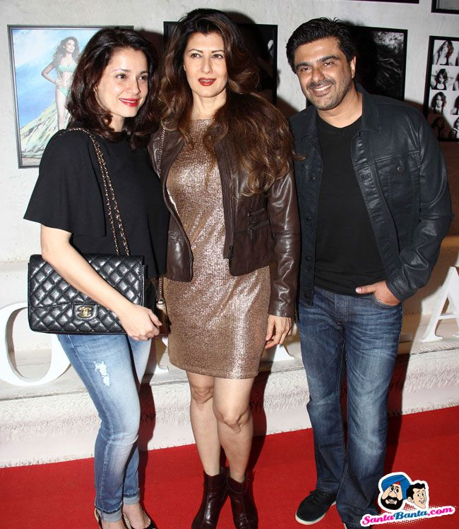 Dabboo Ratnani 2015 Calendar Launch -- Neelam, Sangeeta Bijlani and Sameer Soni Picture # 293046