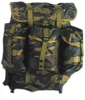 Pin it! :) Follow us :)) zCamping.com is your Camping Product Gallery ;) CLICK IMAGE TWICE for Pricing and Info :) SEE A LARGER SELECTION of hunting backpacks and bags at http://zcamping.com/category/camping-categories/camping-backpacks/hunting-backpacks-and-bags/ - hunting, bags, camping, backpacks, camping gear, camp supplies -  Woodland Camouflage Medium ALICE Pack w/Straps « zCamping.com