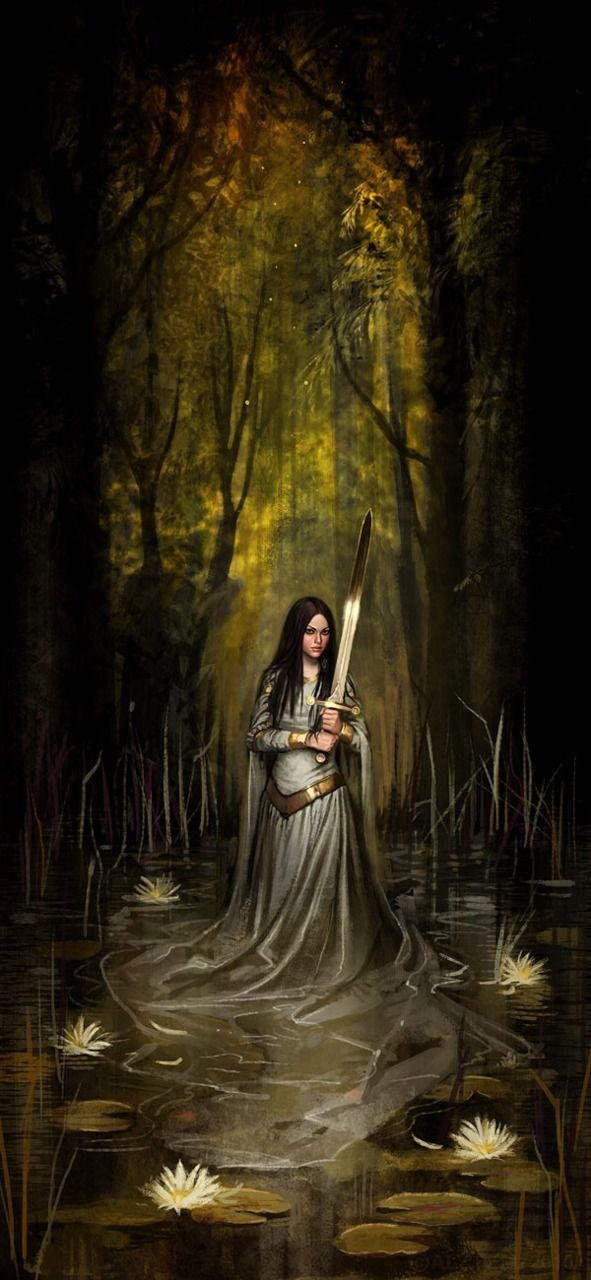 Lady of the Lake was guardian of the magical sword Excalibur granted to King Arthur who founded the Knights of the Round Table d