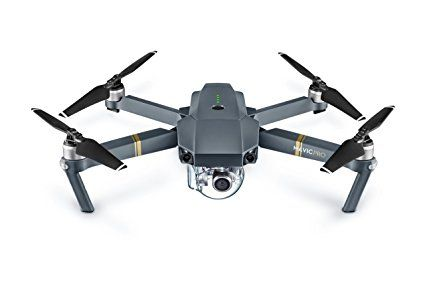 The DJI Mavic Pro folds down as small as a bottle of water, making it small enough to bring with you everywhere. New OcuSync transmission system offers up to 4.3 miles (7km) of transmission range. Fly at up to 40mph (64kmh) or for as long as 27-minutes. ActiveTrack, TapFly and other smart features make professional looking video effortless. True 4K, fully stabilized ensures smooth footage Obstacle Avoidance combined with sensor redundancy increases flight safety and reliability. Vision…