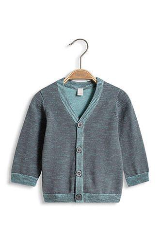 Esprit - Melange Cardigan, 100% Baumwolle im Online Shop kaufen