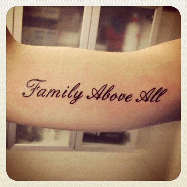 214 best images about lettering tattoos on pinterest for Above all tattoo