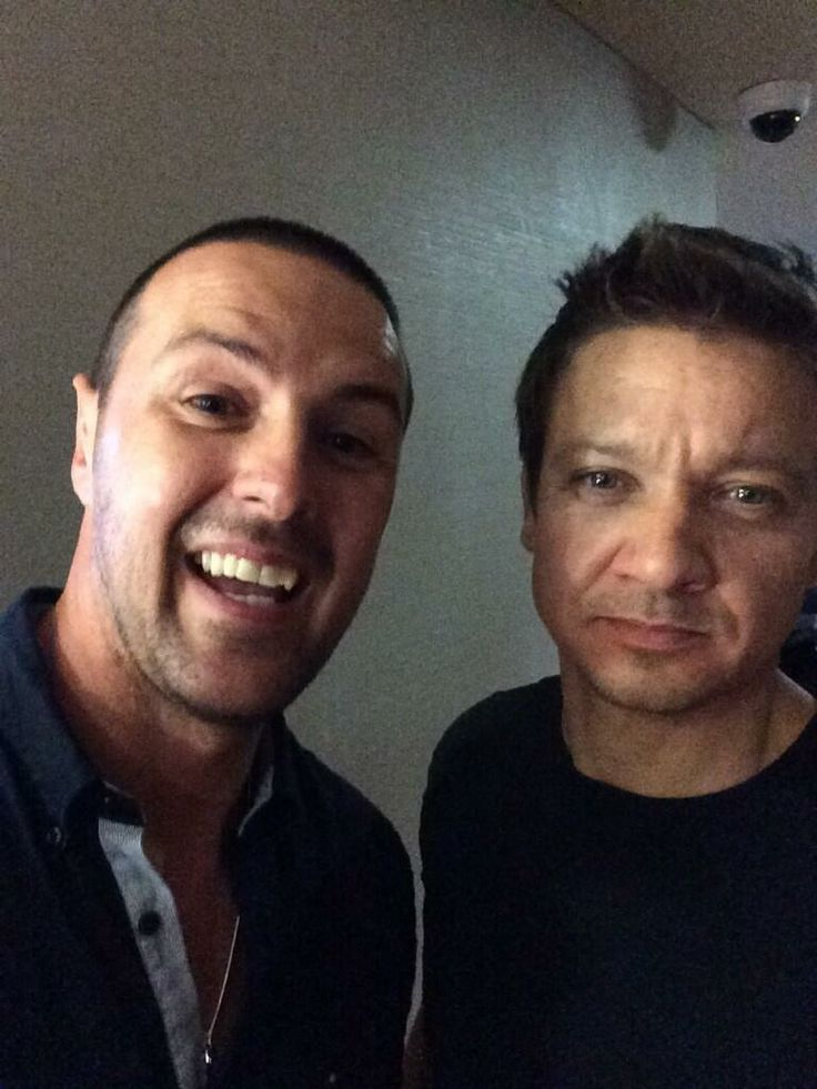 Soccer Aid - Paddy McGuinness and Jeremy Renner