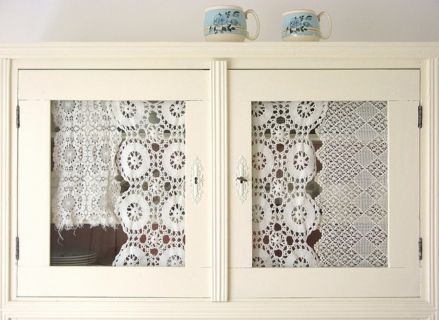 lace for an old cabinet