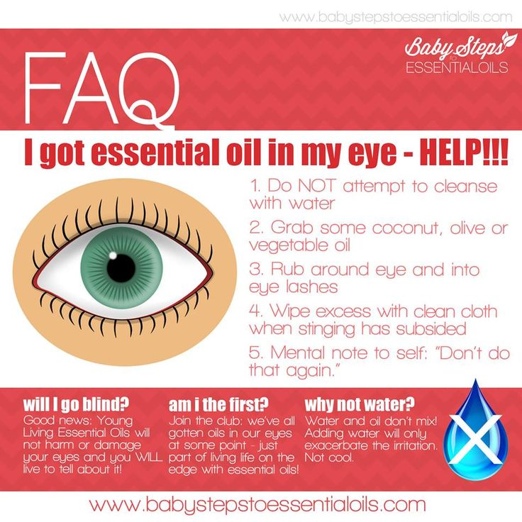 Essential Oils Safety: Essential Oils in the Eye