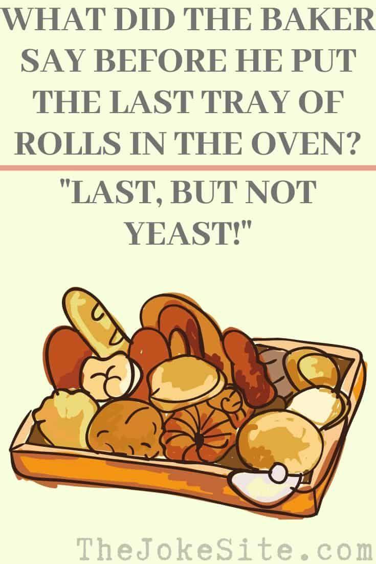 Best Baking Jokes Thejokesite Com Discover More Funny Jokes For The Whole Famiy Baking Humor Types Of Cakes Jokes