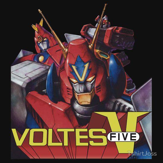 Voltes Five V 5 Japan Anime