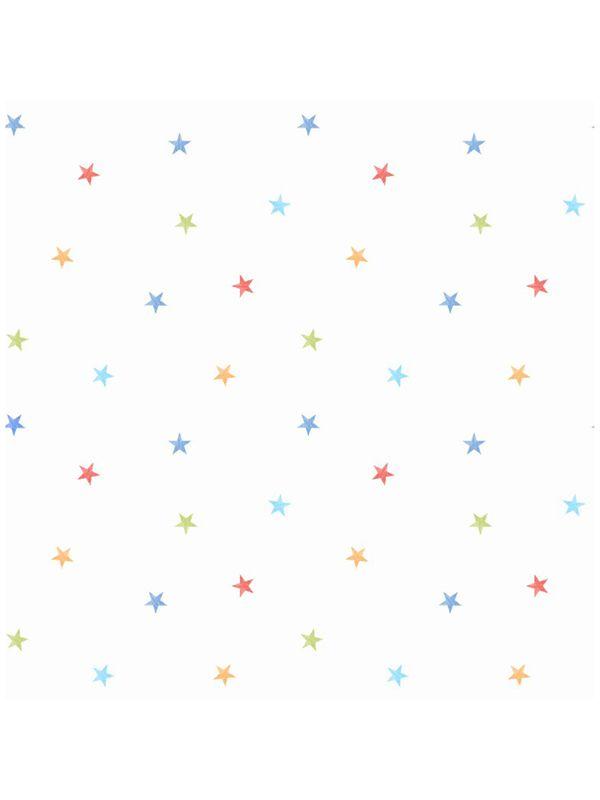 Ditsy Stars Wallpaper 10m   White. 81 best Boys Wallpaper   Borders images on Pinterest   Boys