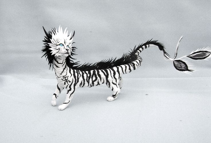 Figurine Eastern Dragon Tiger Cat Fantasy Spirit Elemental Sculpture Animal Creature by DemiurgusDreams on Etsy https://www.etsy.com/listing/188405428/figurine-eastern-dragon-tiger-cat
