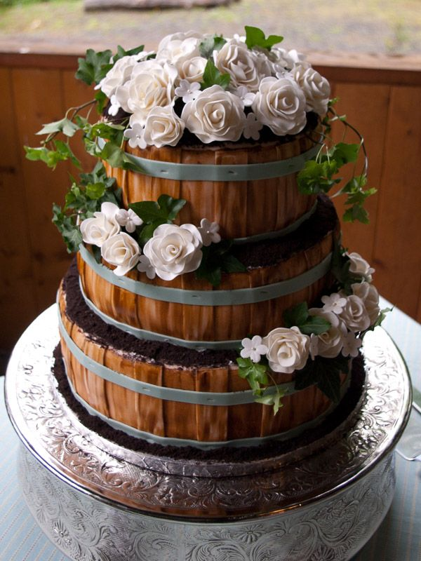 rustic country wedding cake basket inspired wedding cake creative cakes 19493