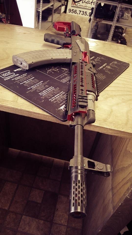 (AK-47) guns, weapons, self defense, protection, 2nd amendment, America, firearms, ammunition, bullets, catridge, munitions #guns #weapons