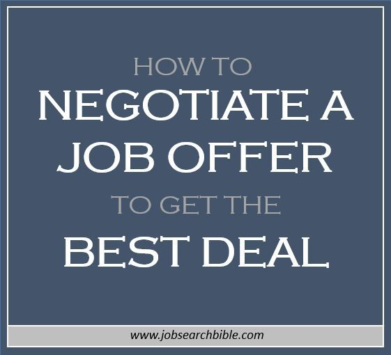 So you've received a job offer from an employer for your dream job – congratulations! But you may be wondering how to negotiate a job offer.