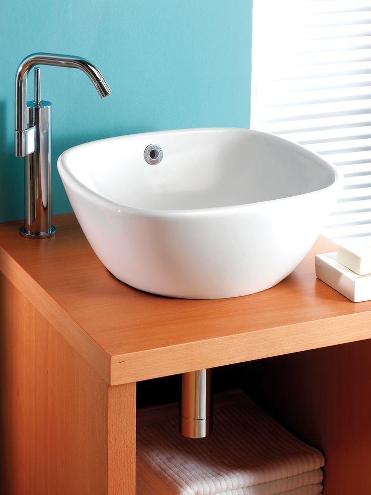 Silverdale Ascot 370mm Countertop 0 Tap Hole Basin   SILAS602 Photo