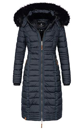 cccd7369ddbb45 Navahoo-Damen-Wintermantel-Mantel-Steppmantel-Winter-Jacke-lang ...