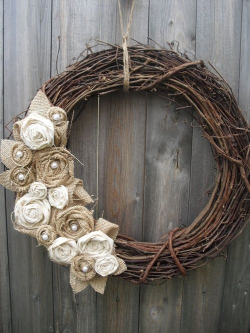 Love the simplicity!  Except, I need to learn how to make the roses.